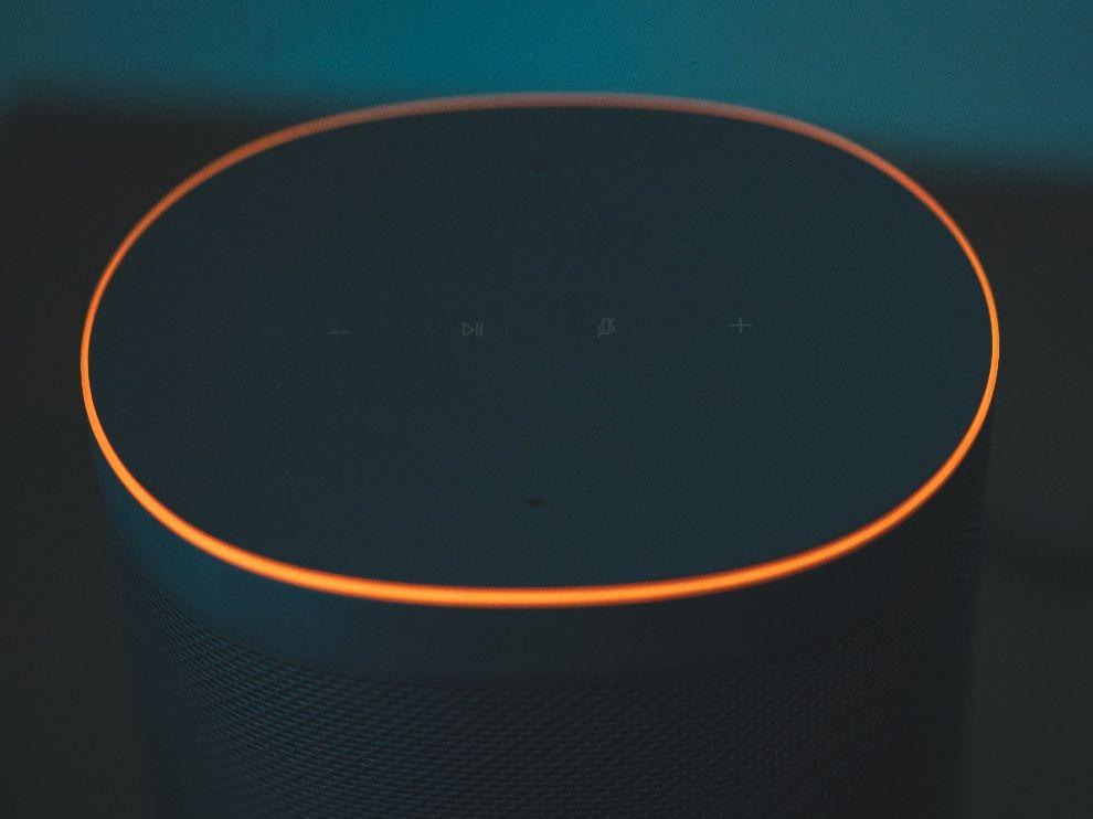Mi Smart Speaker top view