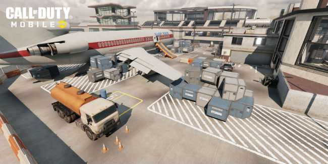 Call of Duty: Mobile's Terminal Map is flexible enough for multiple types of scorestreaks