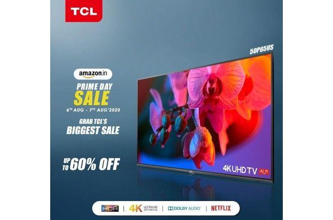 amazon prime day 2020 sale tcl tv deals