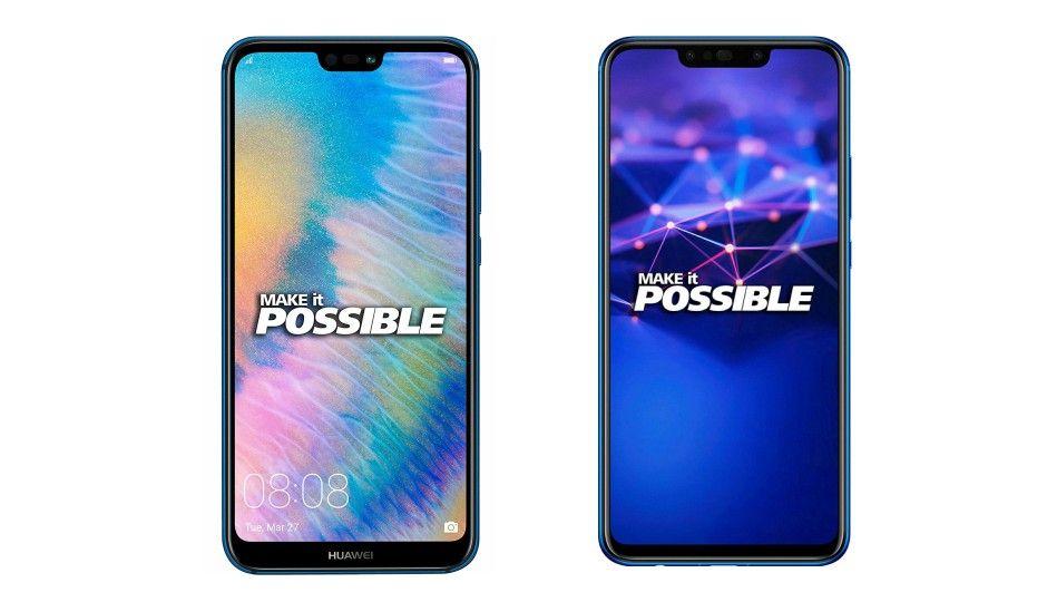 Specs comparison: Huawei P20 Lite vs Huawei Nova 3i - Green
