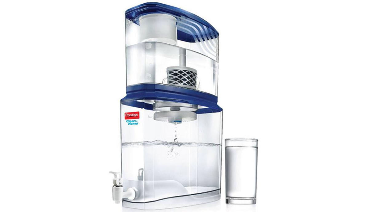 Prestige PSWP 2.0_49002 18 L Gravity Based Water Purifier (Blue)