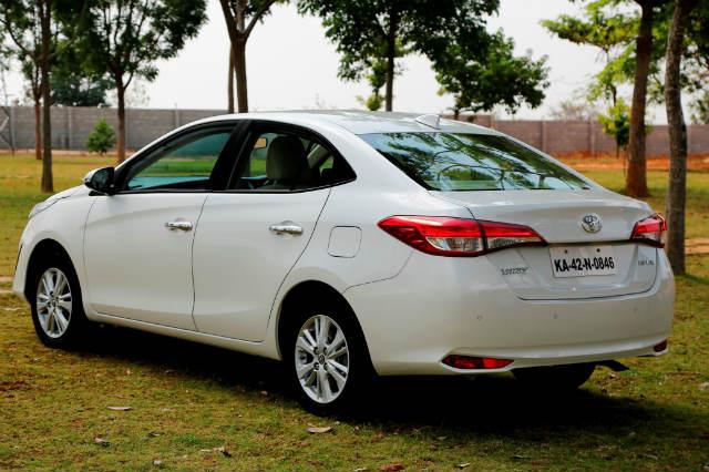 Base Trim: Toyota Yaris J Price: Rs. 8,75,000 (MT); Rs. 9,95,000 (AT)
