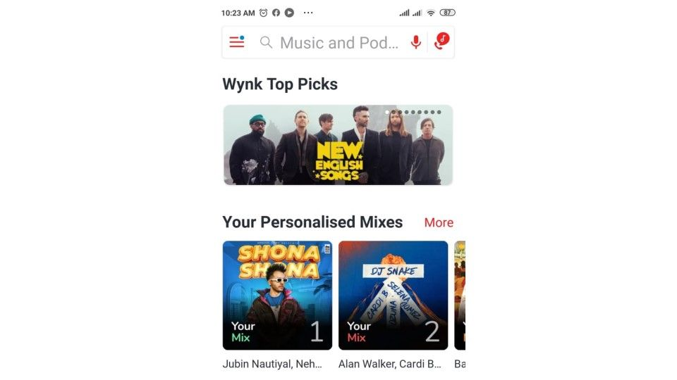 How  to set Hello Tunes on Wynk