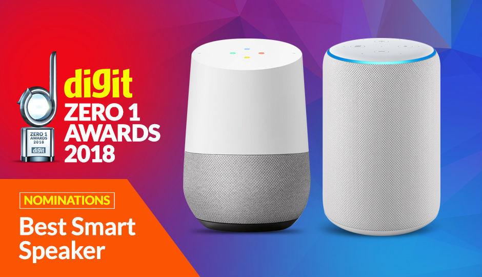 Digit Zero1 Awards Nominations: Best Smart Speaker
