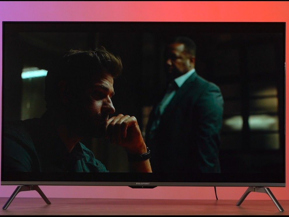 Jack Ryan playing in HDR on Blaupunkt TV