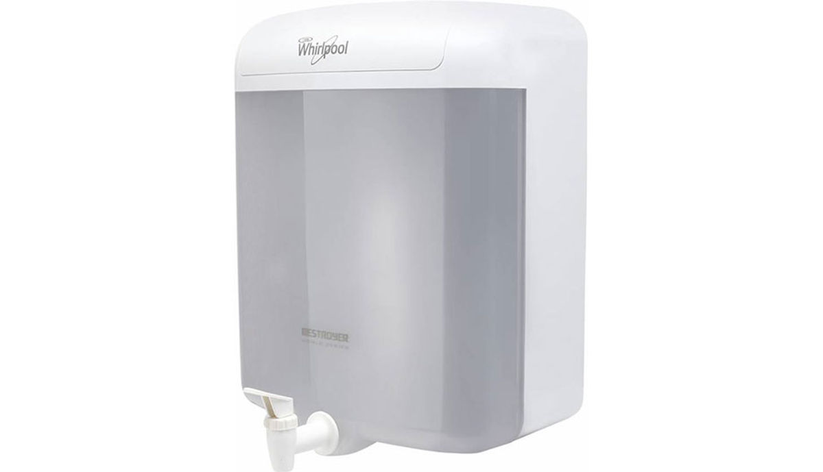Whirlpool Destroyer EAT வடிகட்டு 6 L EAT Water Purifier (White)