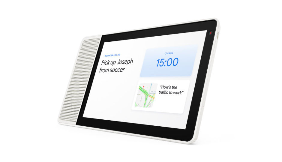 Lenovo unveils Google Assistant-powered Smart Displays rivaling Amazon�s Echo Show at CES 2018