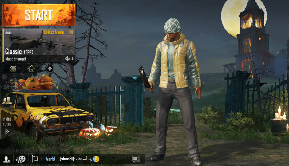 PUBG Mobile Updated To V0.9.0, Gets Night Mode, Halloween
