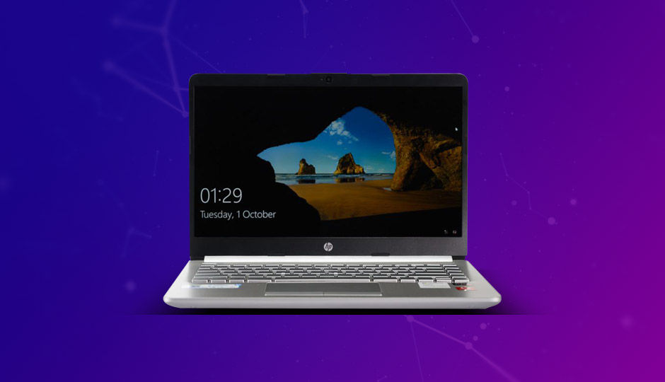Here is a closer look at the HP 14s dk0093au laptop