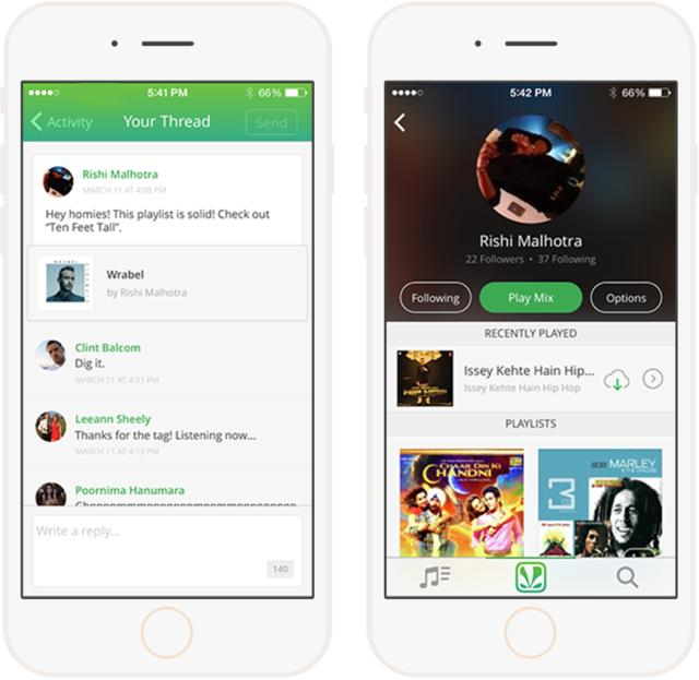 Saavn launches Saavn Social, adds comments, social tagging