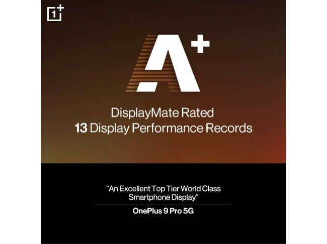 OnePlus 9 Pro is confirmed to feature a 6.7-inch QHD+ (3216x1440 pixels) resolution OLED display that also supports upto 120Hz refresh rate