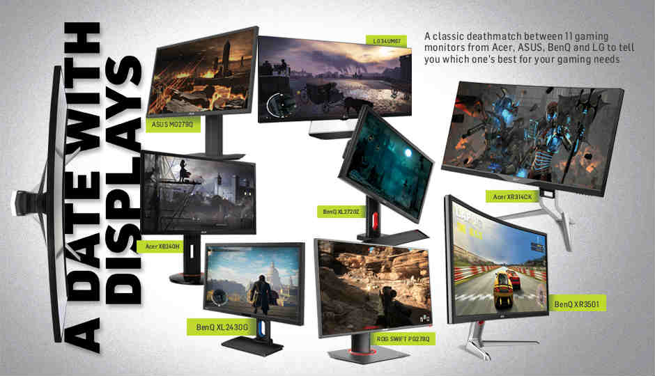 Comparison Best Gaming Monitors In India