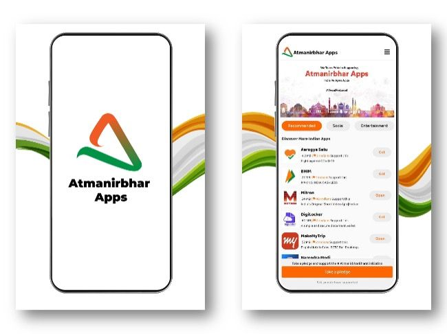Atmanirbhar Apps launched