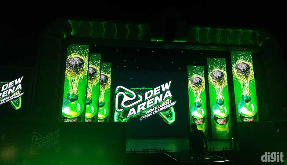 Pepsico S Dew Arena Gaming Championship Ends With A Bang