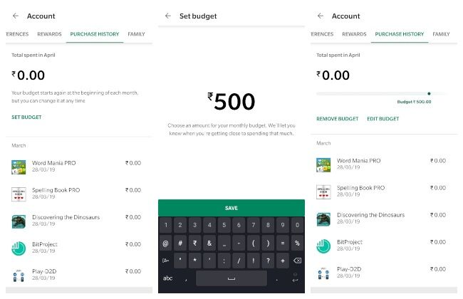 You can now set expense limits on Google Play Store | Digit