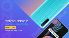 Realme Narzo 10 now available in a new Blue colour variant, here's how you can buy