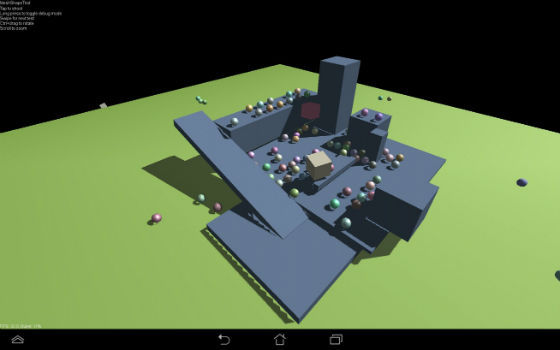 Bullet physics android ndk