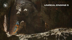 This is the Unreal Engine 5 running on a PlayStation 5