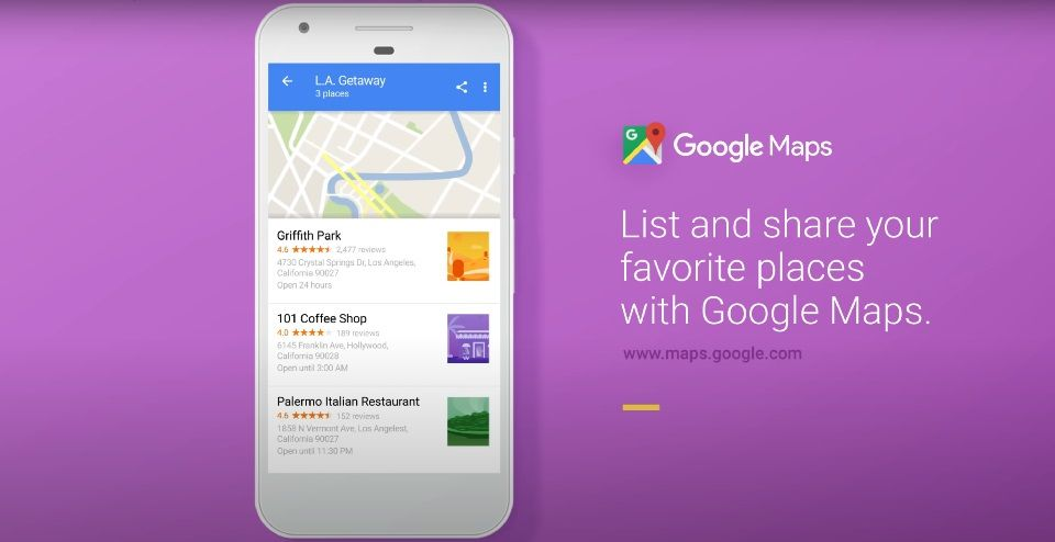 Google Maps launched a new feature called Saved tabs
