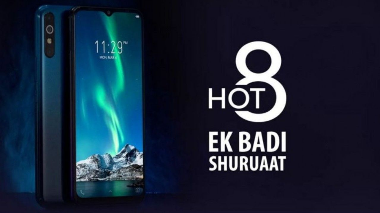 Infinix Hot 8 launched with 5000mAh battery, triple rear