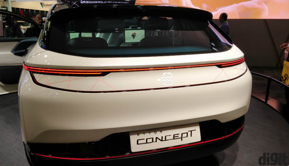 In Pictures Byton Concept Suv Digit