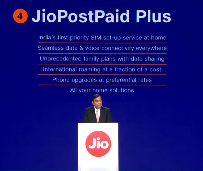 Jio PostPaid Plus brings family plans, priority SIM-setup service and more for JioFiber users