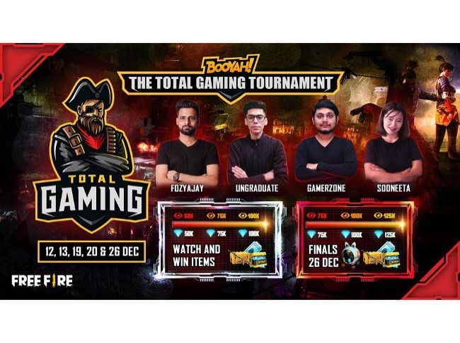 Free Fire Total Gaming Tournament
