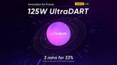 Realme  யின் 125W  பஸ்ட் சார்ஜிங் 3 நிமிடத்தில் 33% சார்ஜ் ஆகிடும்.