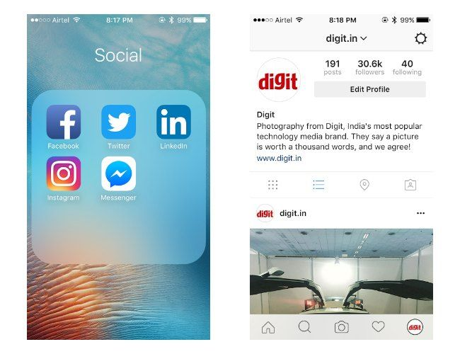 Instagram has a new icon, and design | Digit.in