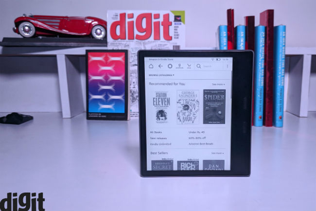 Amazon All-New Kindle Oasis Review