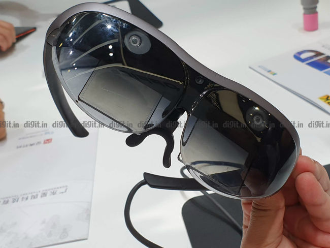 Vivo unveils its first AR glasses at Mobile World Congress in Shanghai