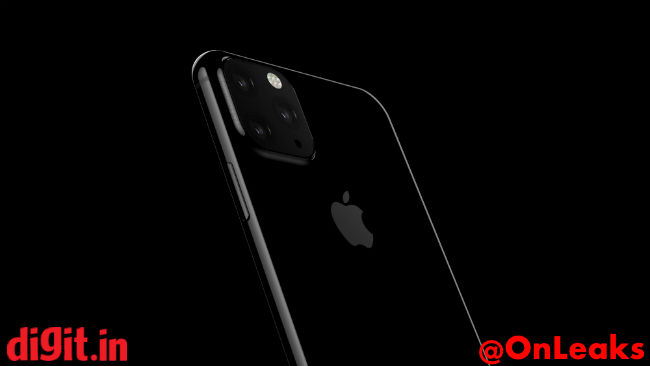 Digit's Apple iPhone XI leak with square triple camera setup