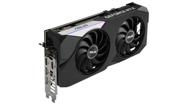 ASUS RTX 3070 DUAL GRAPHICS CARD
