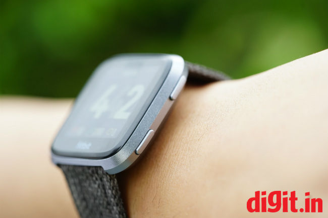 Fitbit Versa review: Does its job, while looking good | Digit
