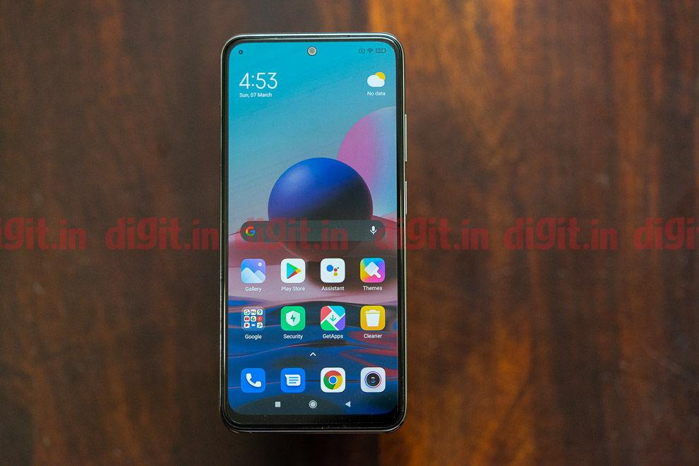 Xiaomi Redmi Note 10 Design and Display