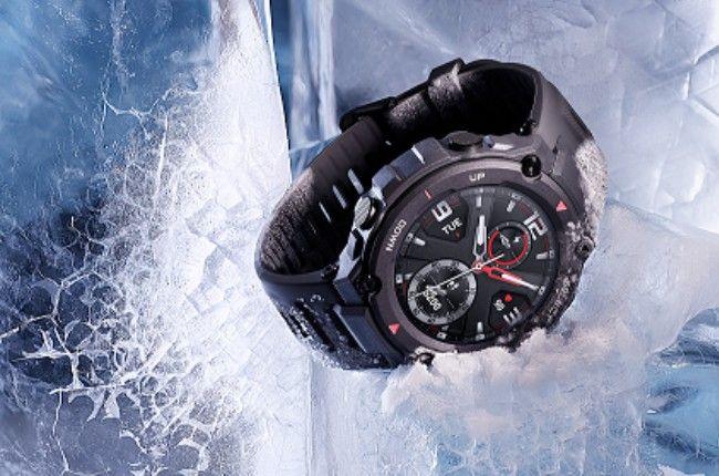 huami amazfit t-rex smartwatch