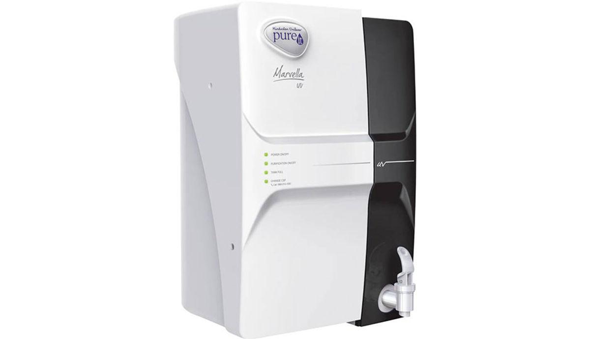 Pureit Marvella 4 L UV Water Purifier (White & Black)