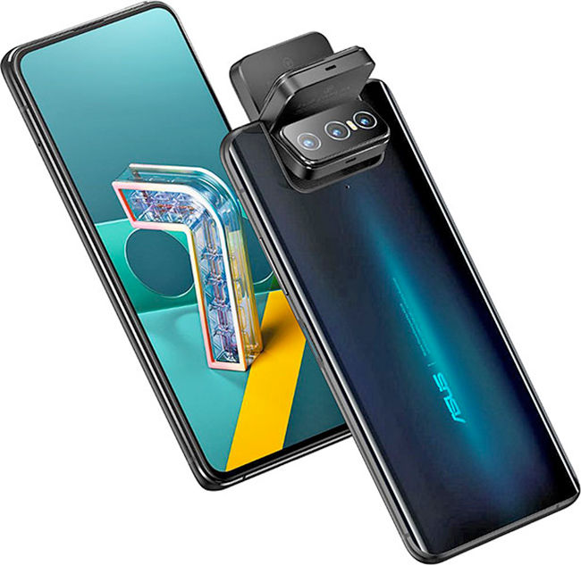 Asus Zenfone 7 and Asus Zenfone 7 Pro both use the swivel camera unit like the Asus Zenfone 6