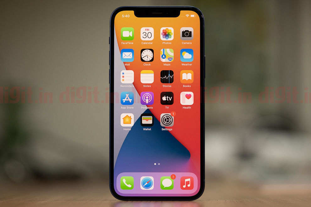 The iPhone 12's display is a significant upgrade, being an OLED panel capable of Dolby Vision HDR