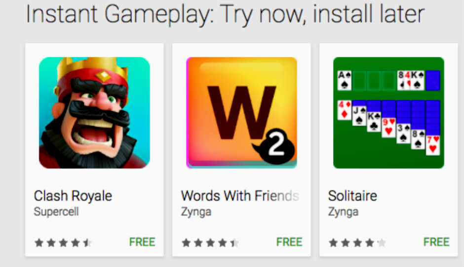 Google play instant will let android users preview games without google play instant will let android users preview games without reheart Images