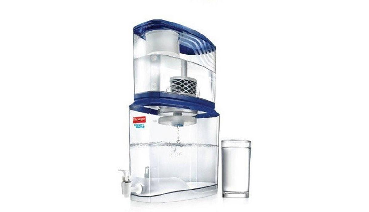 Prestige PSWP 2.0 (49002) 18 L Gravity Based Water Purifier (Blue, White)