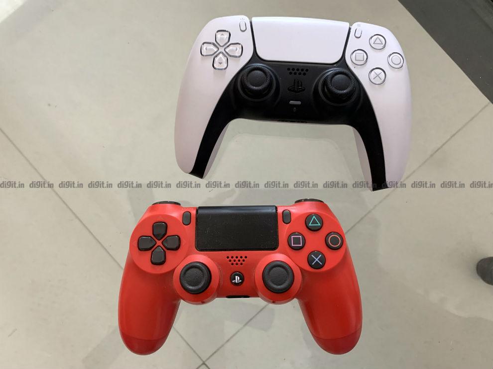 PS5 DualSense vs PS4 DualShock