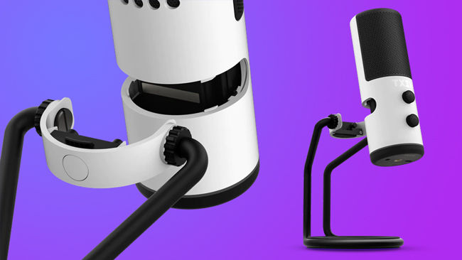 NZXT Capsule USB Microphone Quick Release for Boom Arm