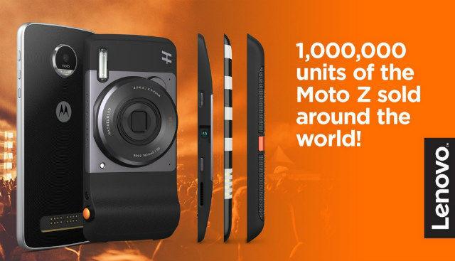 Lenovo sells 1 million Moto Z units, announces CEO Yang Yuanquing