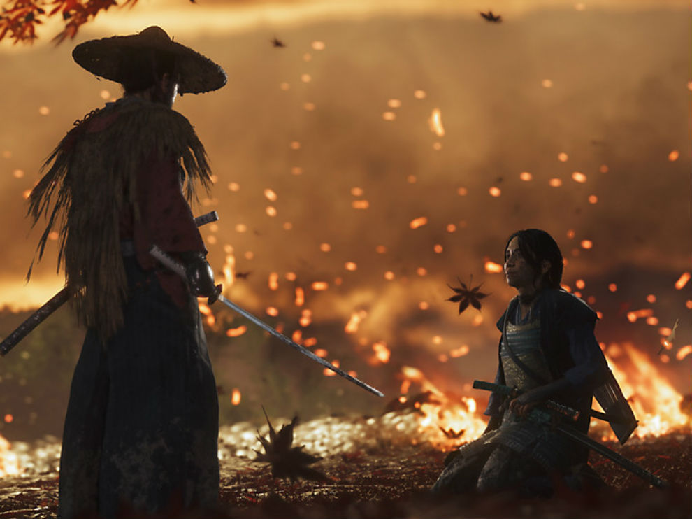 Ghost of Tsushima has one on one duels.
