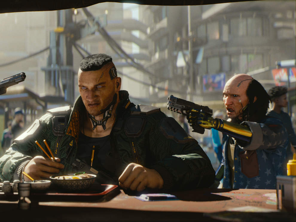 Cyberpunk 2077 load times are insanely fast on the PS5.