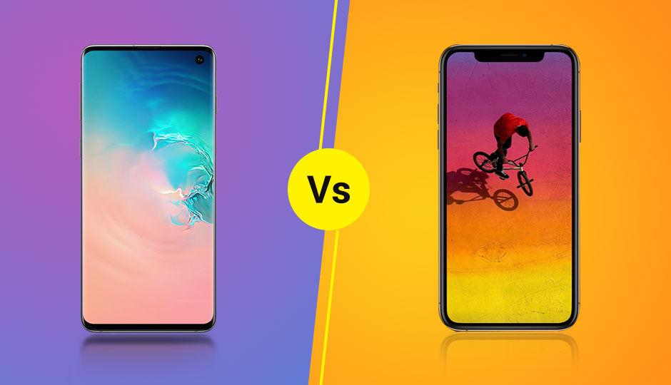 iphone xs vs samsung s10