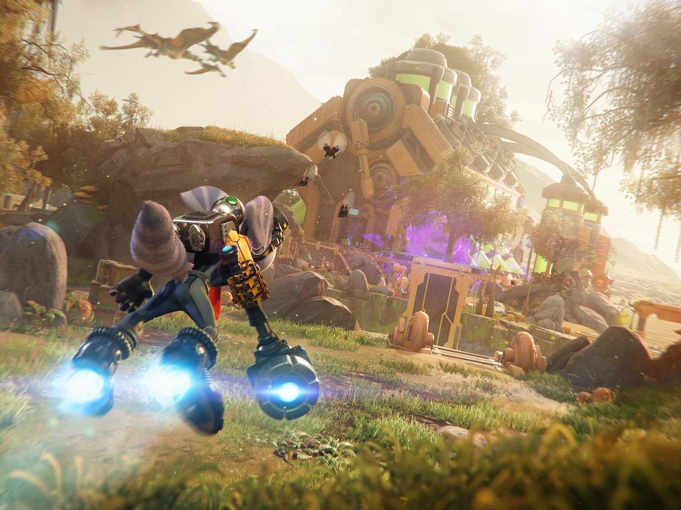 The game offers new modes of traversal as well.