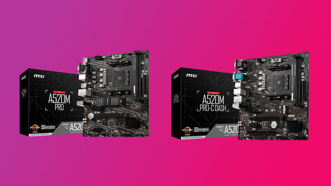 MSI B520 AMD MAG PRO Dash LAN Motherboard