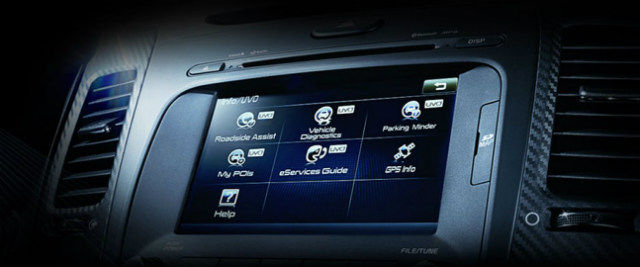 Looking at the technology inside KIA Rio, the first sedan in